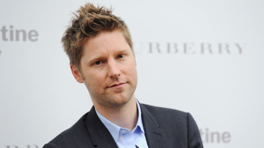 Christopher Bailey attends the Serpentine Gallery Summer Party at The Serpentine Gallery in London.