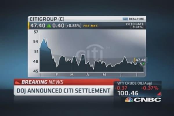DOJ announces $7B Citi settlement