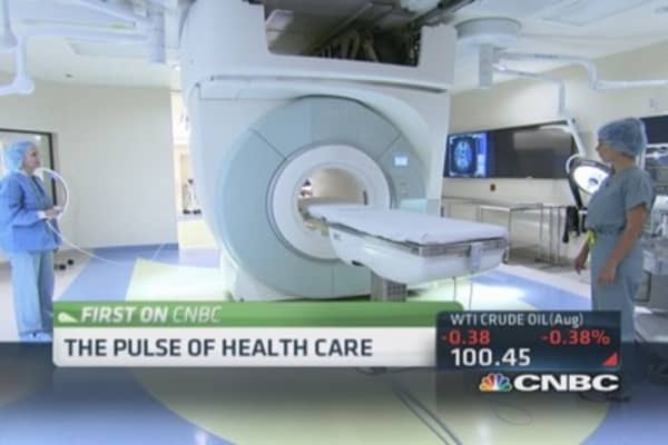 High tech hospitals