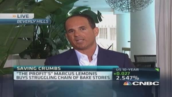 Marcus Lemonis' 'sweet' plan for Crumbs