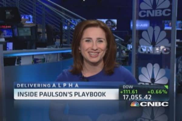 Paulson's $360 million payday