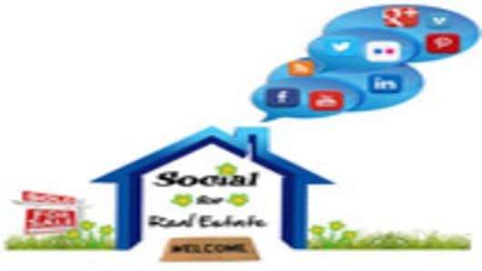 Social for Real Estate Logo
