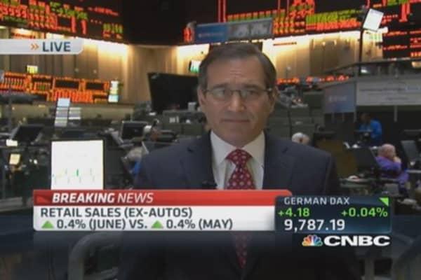 June retail sales up 0.2%