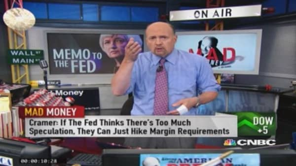 Cramer's take on Yellen's valuation remarks