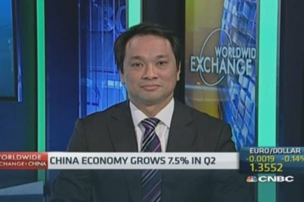 China able to reach GDP target: Economist