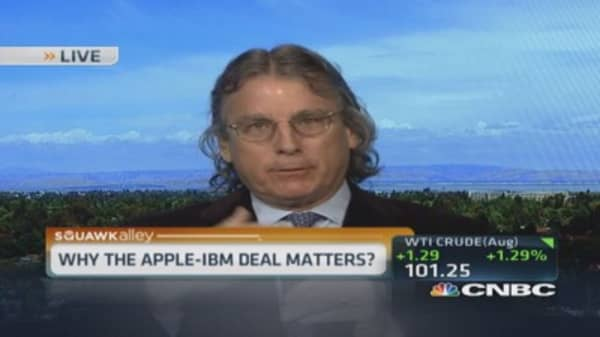 Apple & IBM's mutually beneficial deal