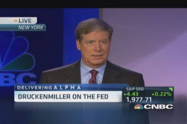 Druckenmiller: Fed policy 'baffling'