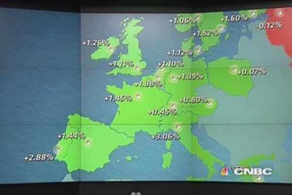 Europe closes up on China; Espirito Santo sours