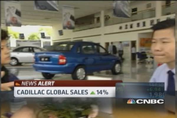 General Motors Q2 sales climb 0.5%