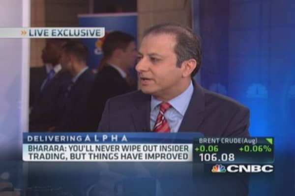 Bharara: Wall Street not inherently corrupt