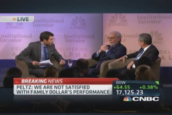 Nelson Peltz on BNY Mellon