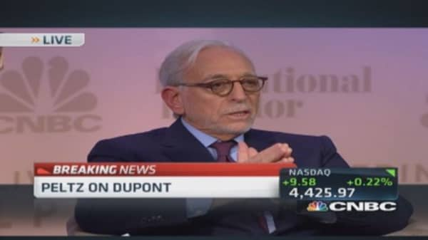 Nelson Peltz: Let me tell you about DuPont