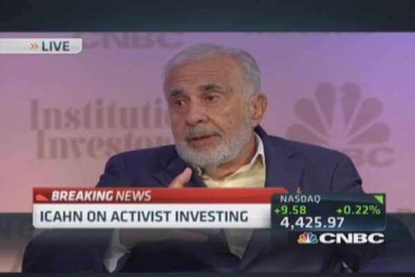 Carl Icahn tackles activism criticism