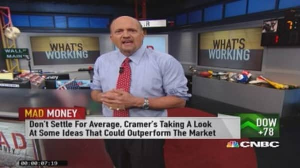 Gains in market extraordinary: Cramer