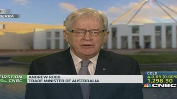 Australia Trade Min: The aims of B20 summit