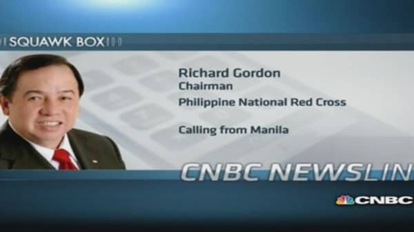 Philippines responded fast to typhoon: Red Cross