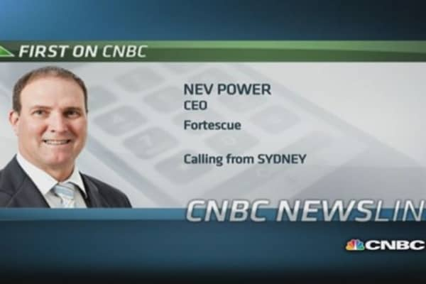 Fortescue CEO: Repeal of carbon tax is good