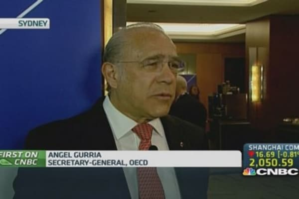 OECD's Gurria: Trade is critical for global growth
