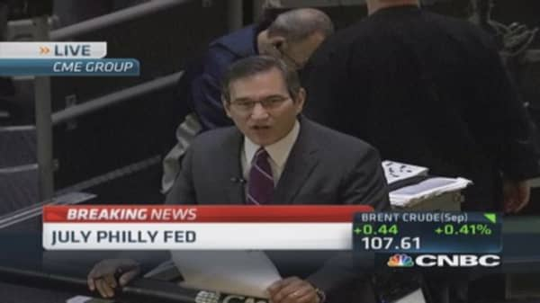 July Philly Fed index 23.9