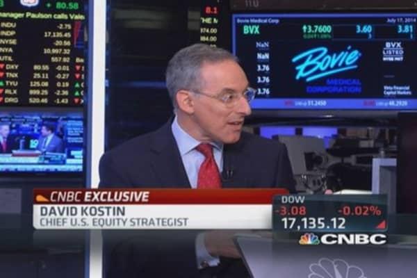 Goldman's Kostin ups S&P target