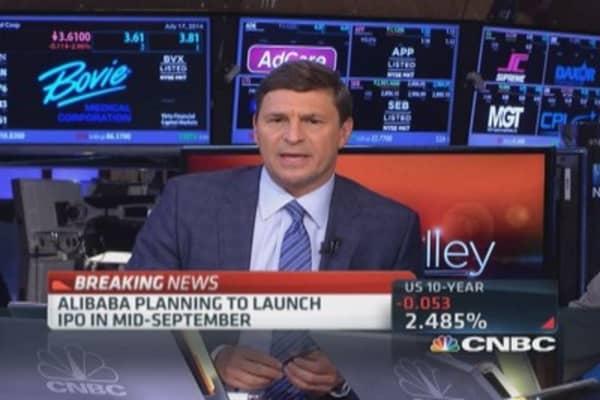Alibaba delays IPO