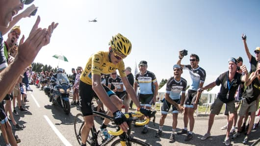 d4697e727 The future of Team Sky has been cast into doubt after its owner and sponsor
