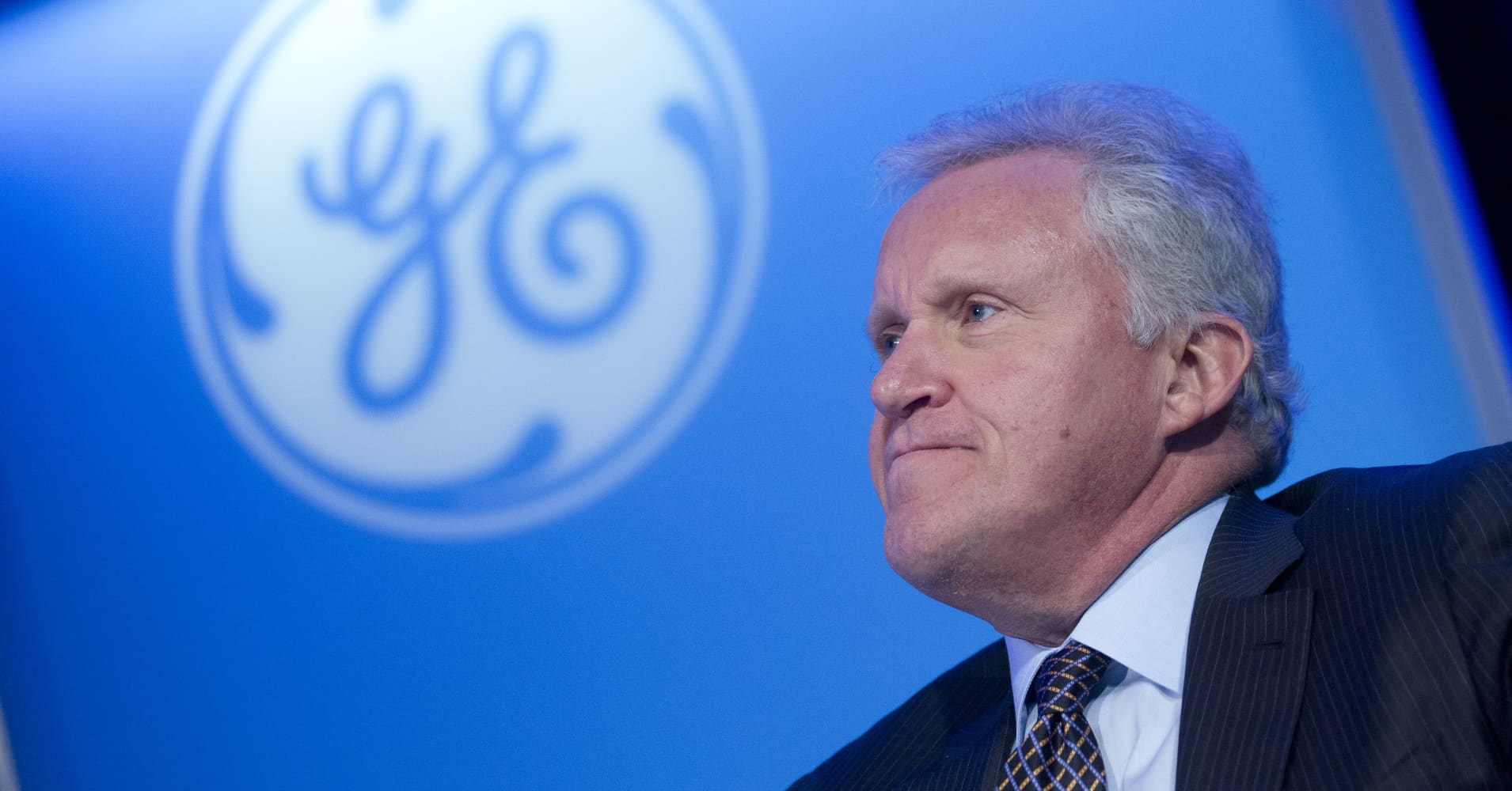 in what ways has jeff immelt redirected the strategy of ge