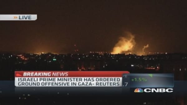 Israeli PM orders ground offensive on Gaza