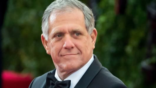 "CBS CEO Leslie Moonves attends the ""Charles James: Beyond Fashion"" Costume Institute Gala at the Metropolitan Museum of Art in New York."