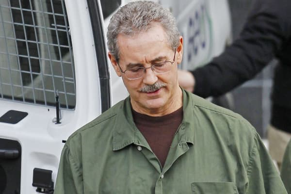 Indicted financier R. Allen Stanford exits the Bob Casey Federal Courthouse in Houston, Texas.