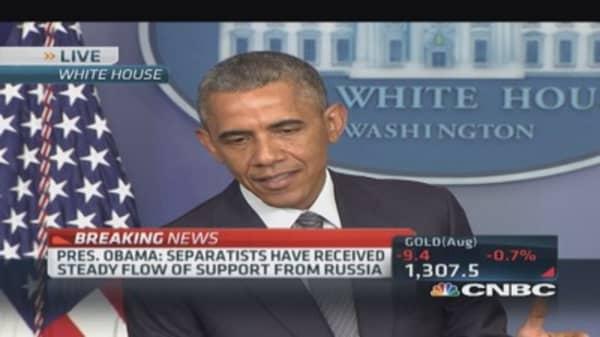 Pres. Obama: No time for propaganda