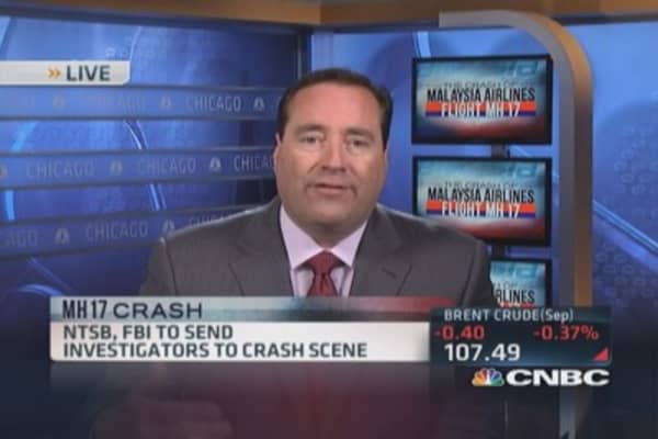 NTSB, FBI sending investigators to Ukraine