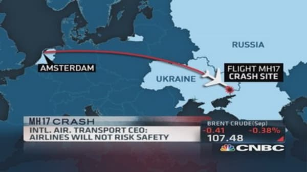 Why was Flight MH17 flying over a war zone?