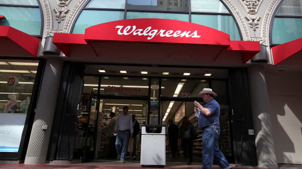 A Walgreens store on June 19, 2012 in San Francisco, California.