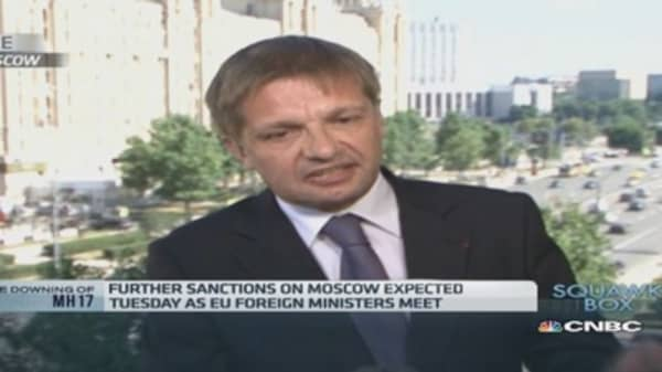 Sanctions against Russia will hit EU: Business body