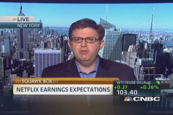 Netflix earnings expectaions