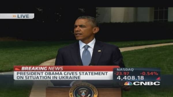 Pres. Obama calls for ceasefire in Gaza