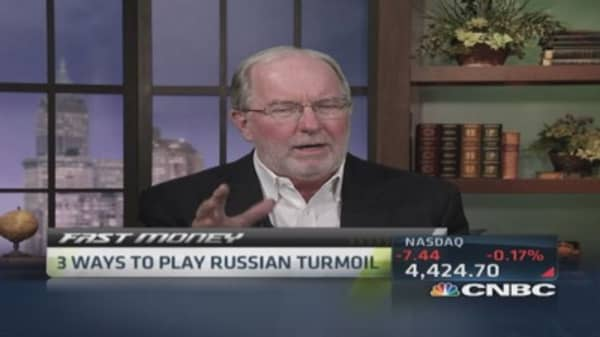 Gartman: Best way to play Russia