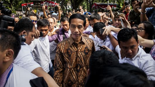 "Joko ""Jokowi"" Widodo."