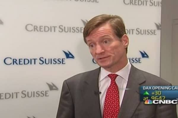 Credit Suisse has seen impact from US fines: CEO