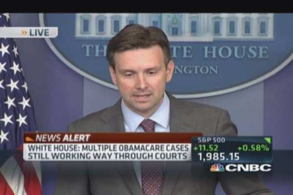 White House: ACA ruling no impact on tax credits