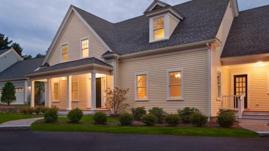 Home house suburban