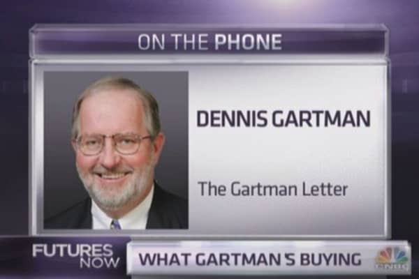 Dennis Gartman: If you buy anything, buy this
