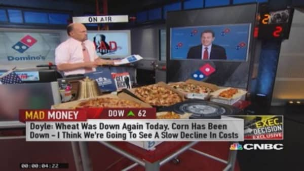 Domino's CEO: Food, service, technology coming together