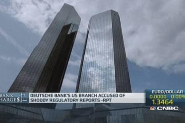 Deutsche Bank accused of 'unreliable' reporting