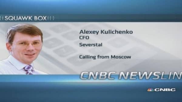 No impact of Russia sanctions on Severstal: CFO