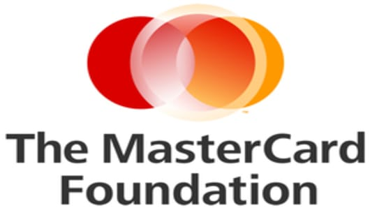 The Mastercard Foundation logo