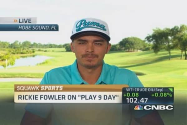 Rickie Fowler's plan to save golf and 'play 9'