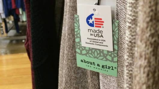 "A ""Made in USA"" brand label requires certification"