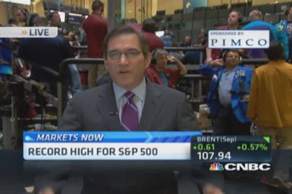 Santelli: Treasurys' 'soft' range